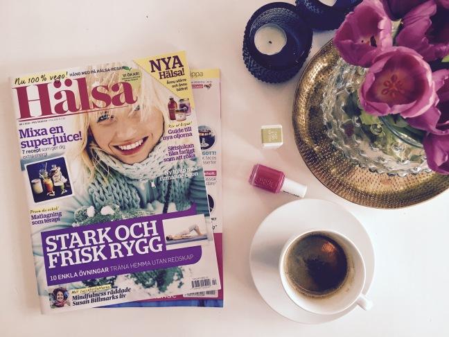 kaffe o tidning